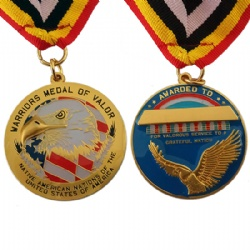 3D Medal with epoxy coating