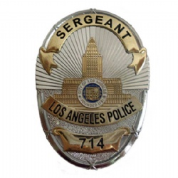 LA Sergeant Badge