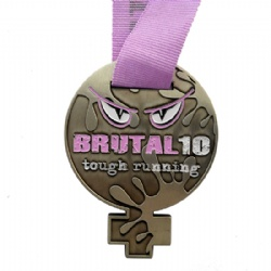 Tough Running Medal